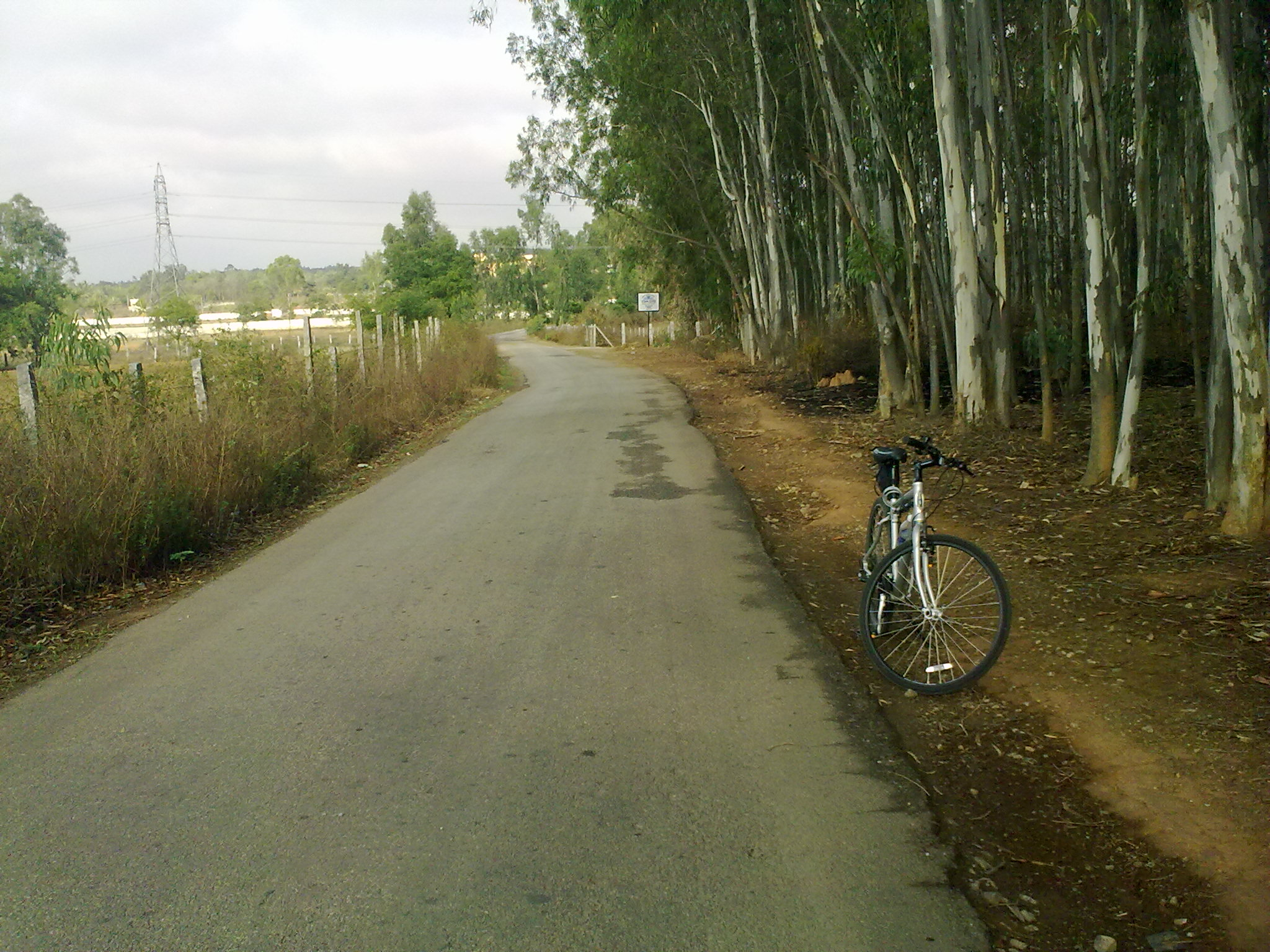 A solo ride through villages